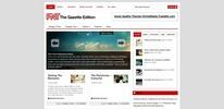 Thumbnail Premium Wordpress Theme Gazette