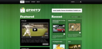 Thumbnail Premium Wordpress Theme Groovy Video