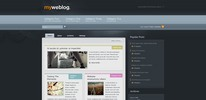 Thumbnail Premium Wordpress Theme Myweblog