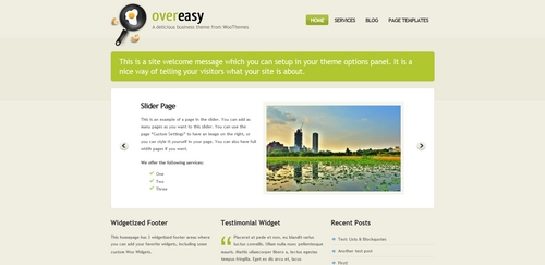 Product picture Premium Wordpress Theme Overeasy