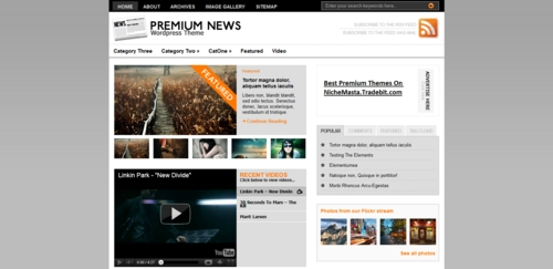 Product picture Premium Wordpress Theme Premiumnews