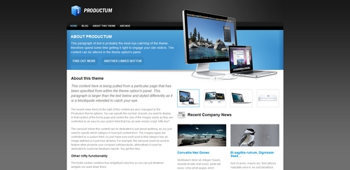 Product picture Premium Wordpress Theme Productum