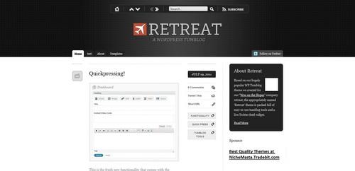 Product picture Premium Wordpress Theme Retreat
